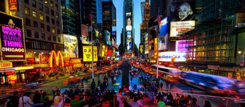 Times Square, ponto turístico mais visitado do mundo. (Crédito da foto: Divulgação)