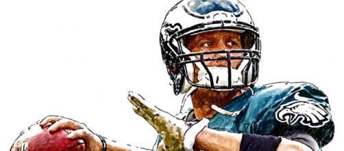 Will Nick Foles be able to lead the Eagles to a victory over the defending NFC champions? Photo courtesy: Jack Kurzenknabe via Flickr