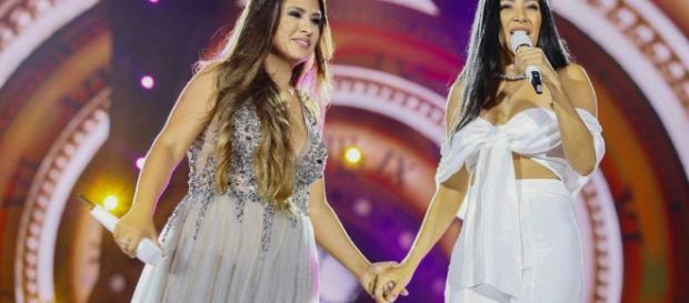 As cantoras vão lançar clipe com a participação do Youtuber Whindersson Nunes e sua namorada (Foto Reprodução).
