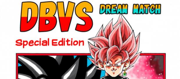 Dragon Ball VS Cover des Fanmade Mangas