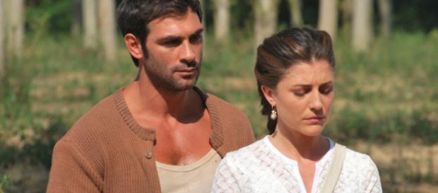 Francesca Valtorta e Francesco Arca