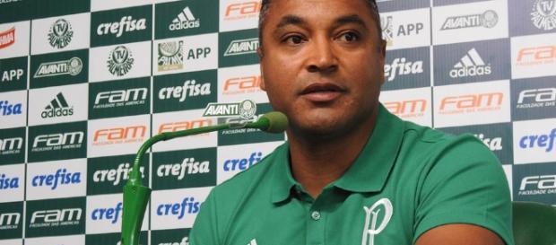 Roger Machado, técnico do Palmeiras