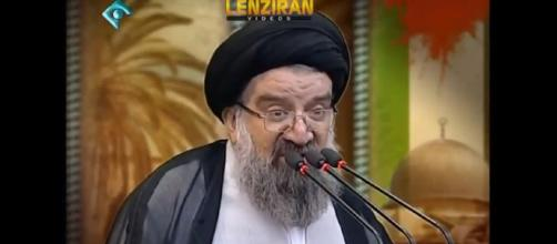 Ayatollah Khatami : Palestinians are indebted to Iran from bread to bullet-Image -Manuchehr Lenziran | YouTube