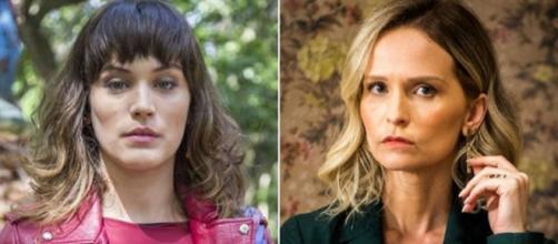 Clara e Fabiana são rivais na trama das nove da Rede Globo de TV. (Foto Reprodução)