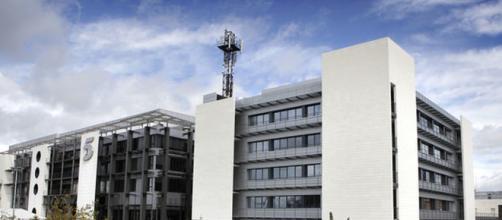 El edificio de Telecinco en Madrid