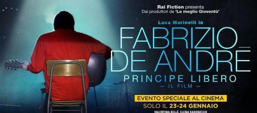 Fabrizio De André - Principe Libero: il film diretto da Luca Facchini