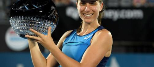 La británica Johanna Konta gana Sydney International con 6-4, 6-2 ... - net.au