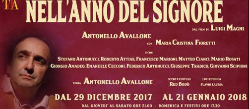 Nell'anno del Signore, teatro dell'Angelo Roma