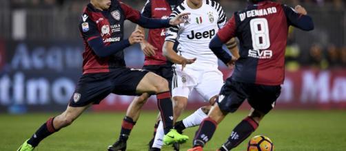 Tutti i modi per vedere in diretta streaming e tv Cagliari-Juventus di stasera