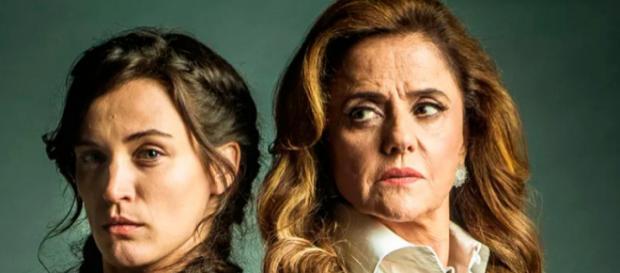 Clara e Sophia em 'O Outro Lado do Paraíso'. (Foto Reprodução).