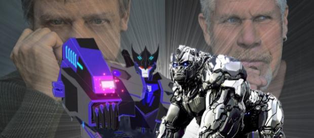Mark Hamill y Ron Perlman se unen a Transformers: Prime Wars Trilogy