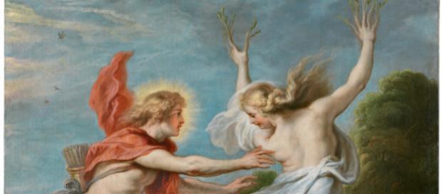 "Theodoor van Thulden, ""Apolo persiguiendo a Dafne"", 1636-1638."