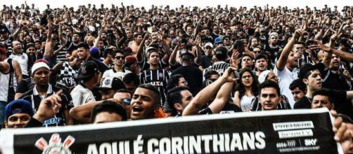 Corinthians x Pinheiro em Araraquara.