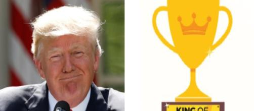 Donald Trump, fake news award, via Twitter