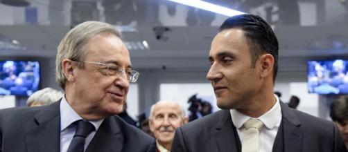 "Florentino Pérez: ""Para el Real Madrid es un orgullo tener a Keylor"" - mundodeportivo.com"