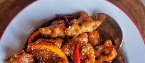 Ricetta pollo all'arancia cinese