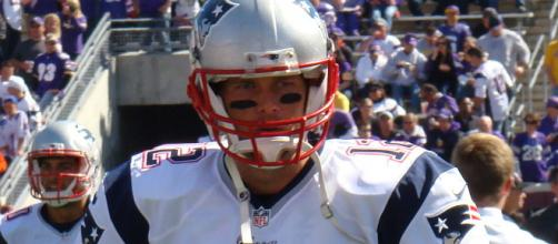 Tom Brady begins his quest for another Super Bowl at home against the Titans. Photo courtesy: Andrew Campbell via Wikimedia Commons