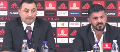 Ultime notizie, Gattuso e Mirabelli
