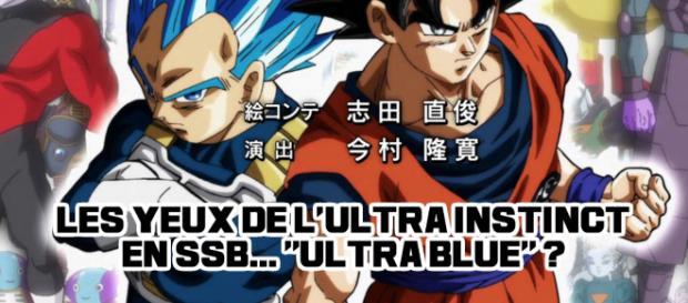 "DBS : Les yeux d l'Ultra Instinct en SSN... ""Ultra Blue""?"