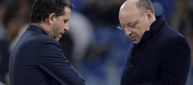 Fabio Paratici, 45 anni, e Beppe Marotta, 60, rispettivamente dg e ad della Juventus