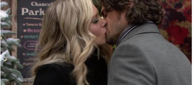 Scott and Abby may end up together. (Image via The Young and the Restless Youtube screen cap).