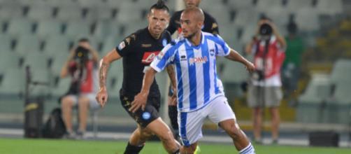 Ahmad Benali, centrocampista del Pescara
