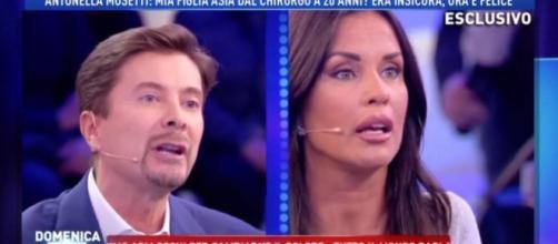 Alta tensione tra Riccardo Signoretti e Antonella Mosetti