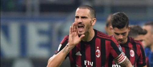 Bonucci va rester le capitaine de l'AC Milan