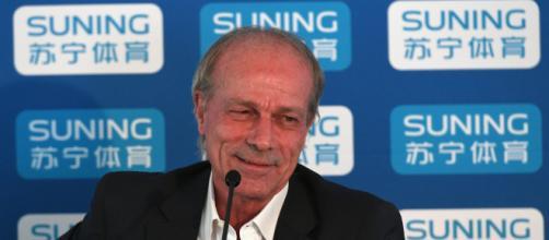 Walter Sabatini, direttore tecnico dell'Inter