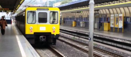 La stazione della metropolitana di Chiaiano dove venerdì scorso è stato aggredito un quindicenne