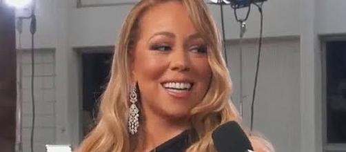 Mariah Carey used the word 'linner' in tweet [Image: mariahxlambily/YouTube screenshot]