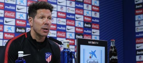 """Simeone: """"Vitolo es entusiasta y comenzará contra Lleida"""""""