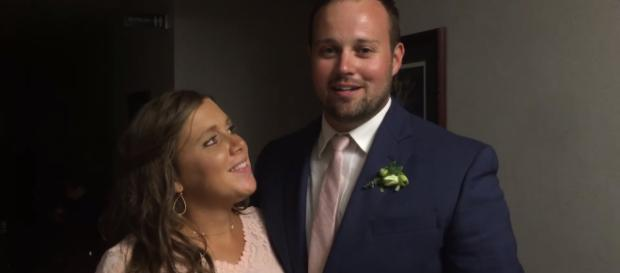 Josh and his wife appear on his family's social media. - [Duggar Family / YouTube screencap]
