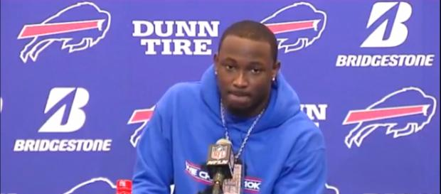 LeSean McCoy expresses frustration over Bills' loss to Jaguars in playoffs. Photo Credit: NFL Game Recap on YouTube