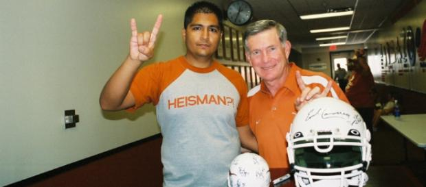 Mack Brown will be part of the 2018 College Football Hall of Fame Class. Image Source: Flickr | RD W