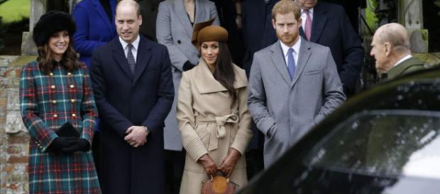 Meghan Markle, Kate Middleton, Harry et William réunis autour de ... - programme-tv.net