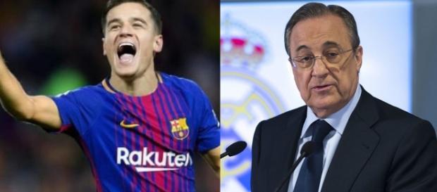 Mercato : La réponse du Real Madrid au Barça et à Coutinho !