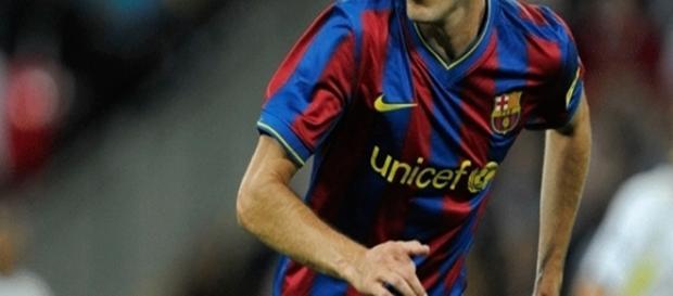 O atleta já foi titular do Barça