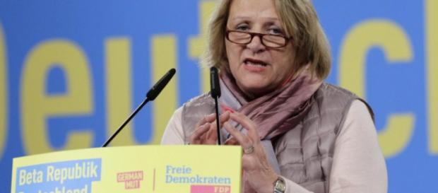 Sabine Leutheusser-Schnarrenberger sorgt sich um den Weg ihrer Partei