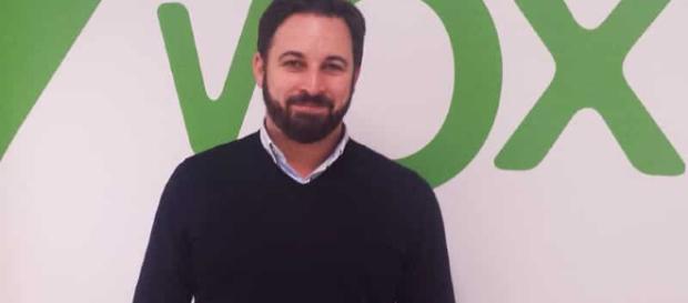 Santiago abascal, lider de VOX (via vozlibre)