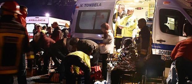 Socorro foi prestado por mais de duas centenas de operacionais