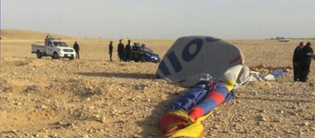 Tragedia en Egipto: dos argentinos heridos por caída de globo ... - com.ar