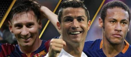 Messi, Neymar y Cristiano Ronaldo finalistas al Balón de Oro ... - elmundo.es