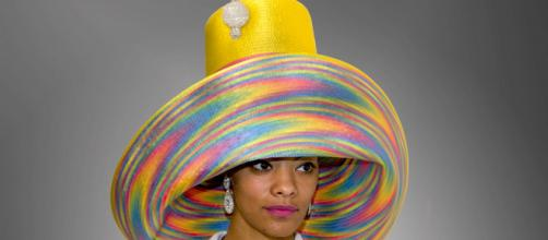 American Hats LLC is known for their elaborate and colorful creations. / Image via American Hats LLC, used with permission.