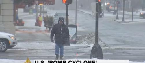 'Bomb cyclone' weather emergency across US East Coast -Image credit - Al Jazeera English | YouTube