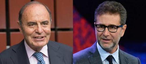 Bruno Vespa e Fabio Fazio nel 'mirino' del M5S