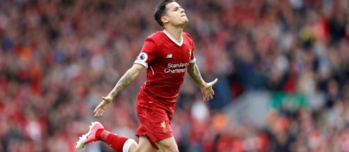 Coutinho mantém gratidão ao Liverpool