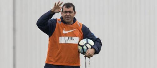 Fábio Carille é o treinador do Timão