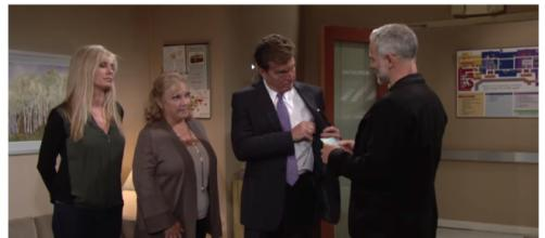 Graham and the Abbot's battle in court over Dina.(Image via YR Worldwide fans Youtube).