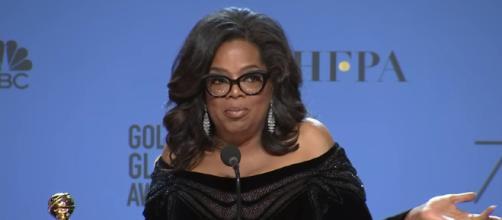 Oprah Winfrey - 2018 Golden Globes - Full Backstage Speech - Image credit - Variety|Youtube
